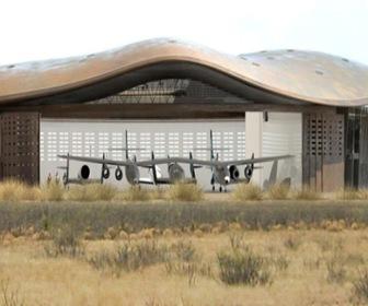 angares-aeropuerto espacial de Norman Foster en Nuevo México
