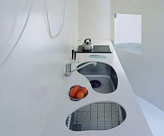 COCINA Clover House, Nishinomiya, Hyogo - Japón Katsuhiro Miyamoto & Associates