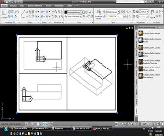autocad 3d Trabajar con varios Viewports en 3D