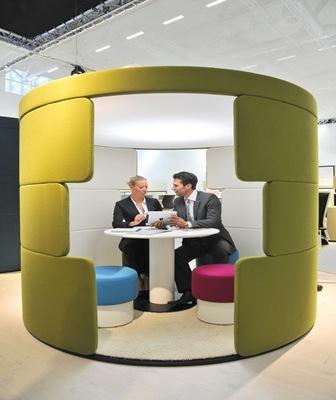 Diseño de espacio de un oficina