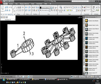 autocad-Línea de comando 3D ARRAY