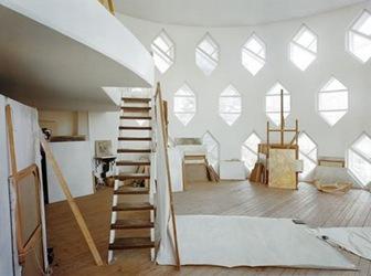 melnikov-casa-interior
