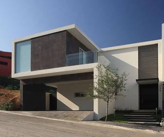 Planos de casas modernas conjunto residencial por glr for Diseno casas minimalistas economicas