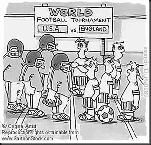 world footie match
