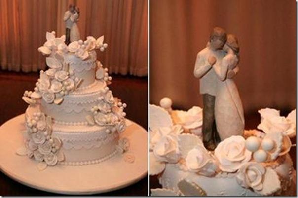 6 bolo e noivinhos