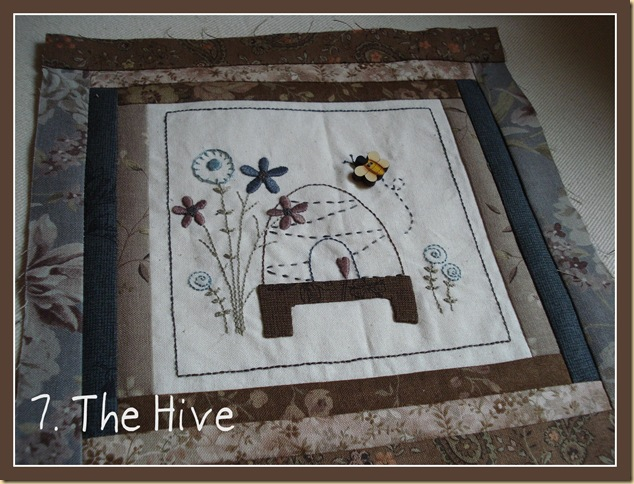 BL 7 BOM MY GARDEN THE HIVE pic