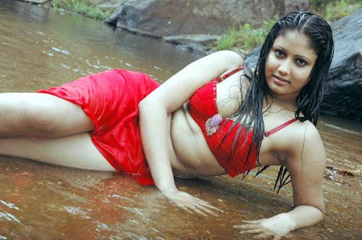 Single Photo  stock photo : Monochrome portrait of nude elegant woman in fishing seine