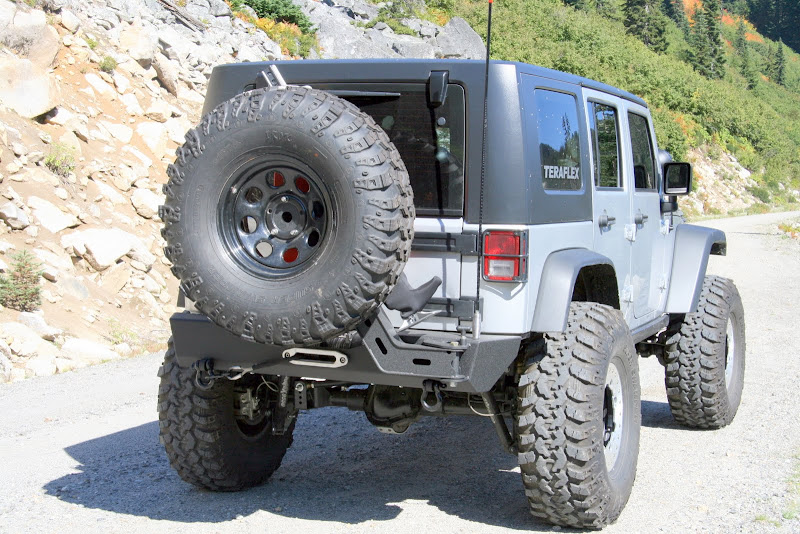 extreme rear winch bumper \u0026 tire carrier new from benchmark Jeep Wrangler Jk Winch Bumpers
