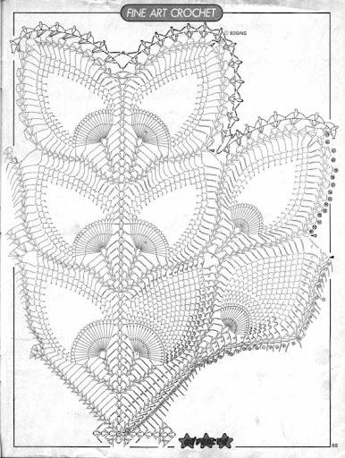 مفارش للطاولات بالكروشي مع الباترون 001---grafico.jpg
