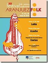 XIX festival de música tradicional Aranjuez folk