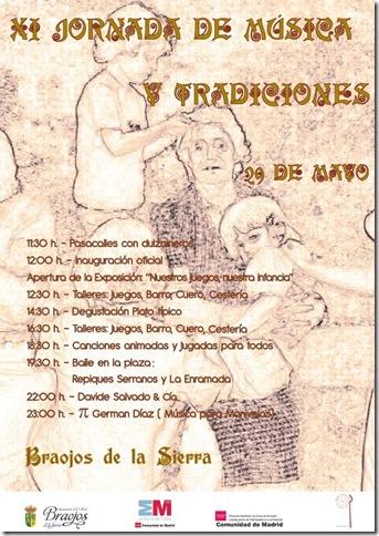 XI Jornada de Música y tradiciones de Braojos de la Sierra