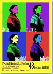cartel rosa del azafrán 2010