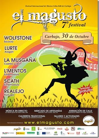 cartel El magusto de Carbajo de 2010