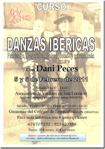Curso de danzas ibéricas con Dani Peces