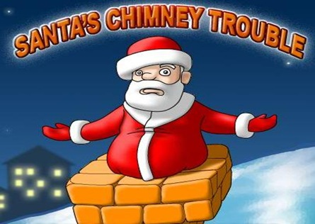 Проблемите на Дядо Коледа с комина