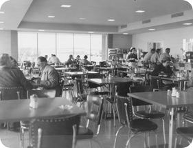 VC Coffee Shop, March 3, 1958. Hewitt 0945-1