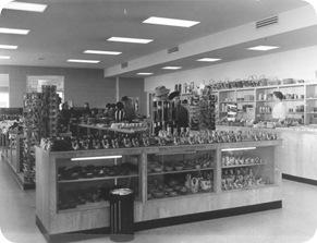 VC Gift Shop, Feb 16, 1958. Hewitt 0947-1