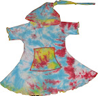 2/3T Olivia Scrunchie Dyed Playdress