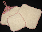 Pink Owls Towel Set