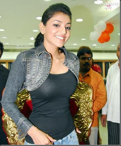 Kajal Aggarwal in tight tops