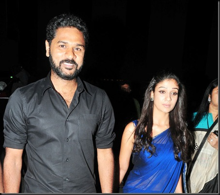 prabhu deva,nayanthara at southscopeawards4