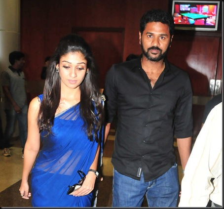 prabhu deva,nayanthara at southscopeawards3