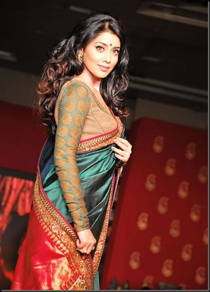 Shriya-Saran-At-Handloom-Fashion-Show-Gallery