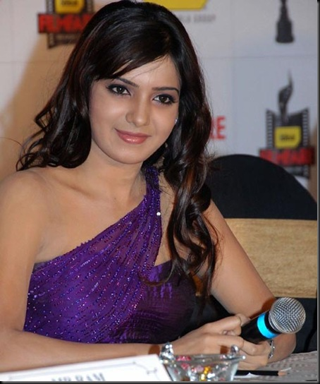 Samantha-Ruth-Prabhu-Blue-Dress-Sexy-Photo-Stills