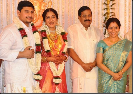 Swetha Mohan Ashwin Wedding Reception Photos5