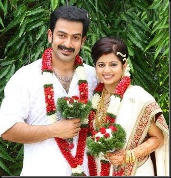 Prithviraj wedding stills