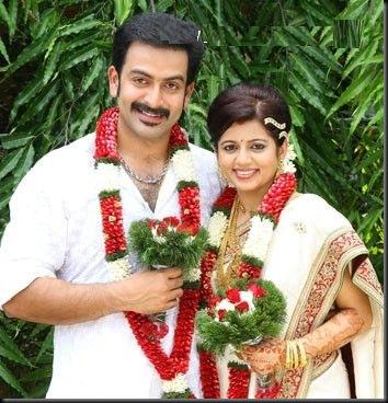 Prithviraj wedding stills