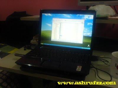 My Compaq 3751AU