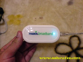 Maxis Broadband USB Try Out
