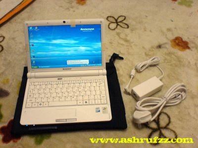 Laadvamore's new pink Lenovo Ideapad S10 Netbook