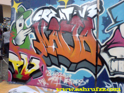 Graffiti Art @ Youth09