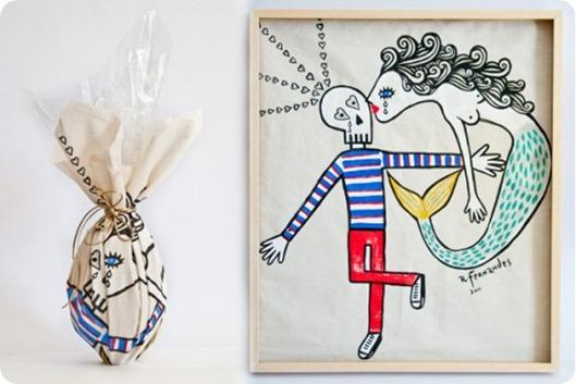 Ovo-e-quadro-Beijo-Sereia-500x330