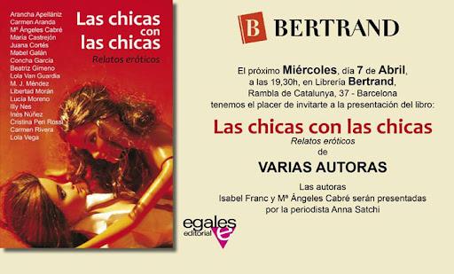 presentación LAS CHICAS CON LAS CHICAS