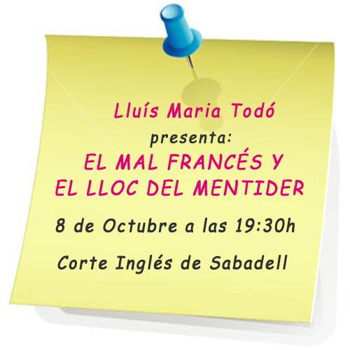 presentación Lluís Maria Todó