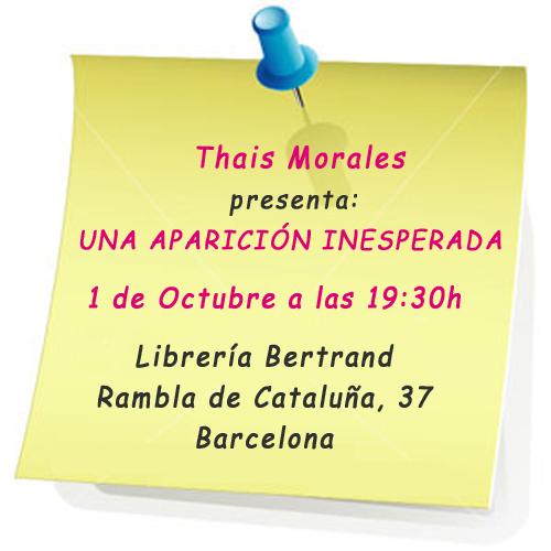 presentación Thais Morales