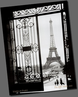 HG1090~Paris-France-View-of-the-Eiffel-Tower-Posters