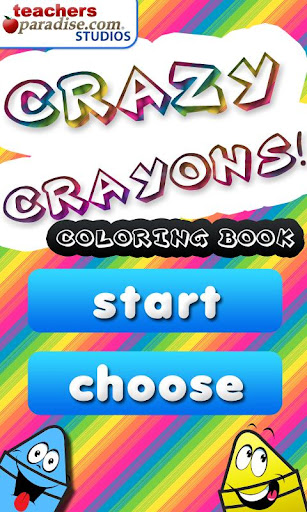 【免費教育App】著色瘋狂的蠟筆-APP點子