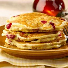 All-Bran Cranberry Orange Pancakes