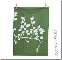 Watercress Tea Towel