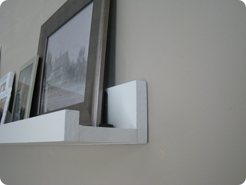 At Home With H Diy Picture Ledges