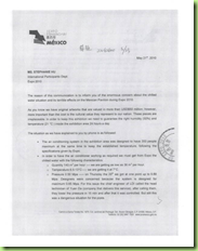 Carta a organizadores de la Expo 2010 Shanghái parte 1