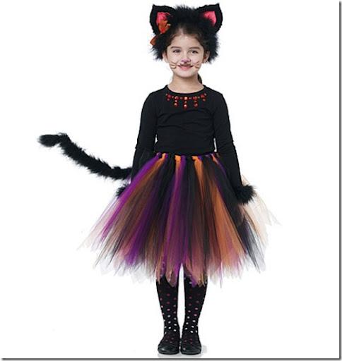 Disfraces hechos con un tut de bruja de gato de hada - Disfraces de gatitas para nina ...