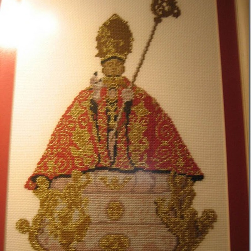 San Fermín en punto de cruz esquemas gratis