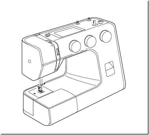 Manual en español máquina de coser Alfa (next 30