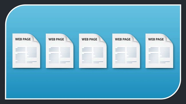 Create some pages on your website