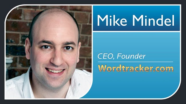 Mike Mindel CEO and founder Wordtracker
